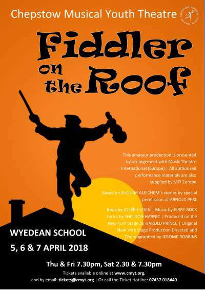 Cmyt Fiddler On The Roof 2018 Class Act Theatre Company